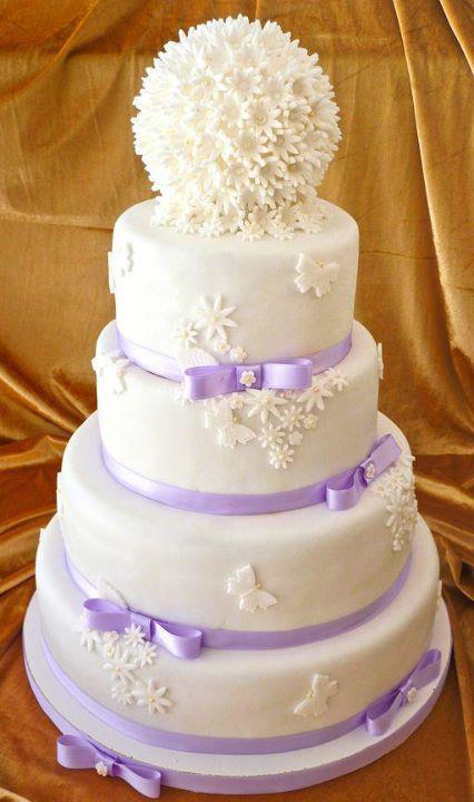 bolo noiva flores