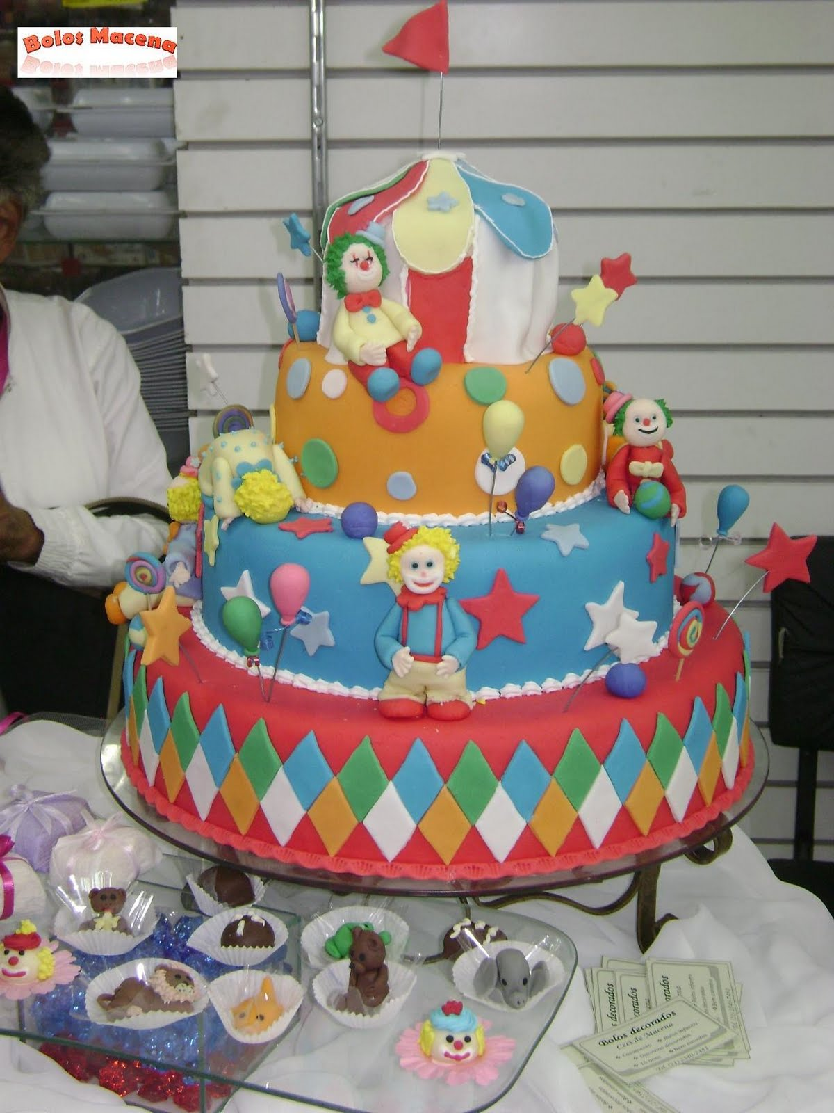 bolo palhaço circo1
