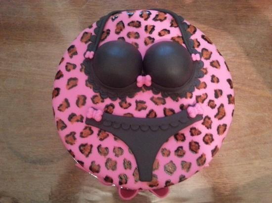 bolo para cha de lingerie