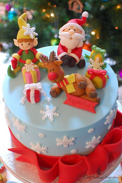 bolo para o natal