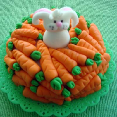 bolo pascoa cenoura