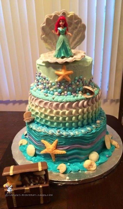 bolo pequena sereia 1