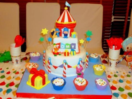 bolo pocoyo circo
