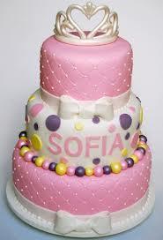 bolo princesa laço