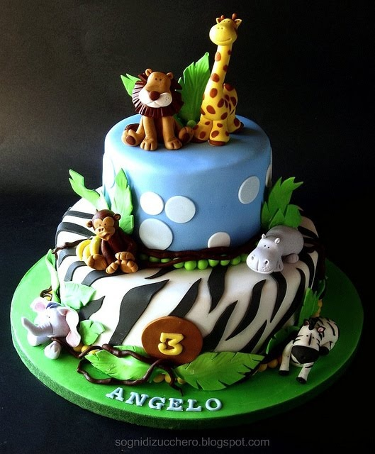 Monkey Birthday Cakes For Adults