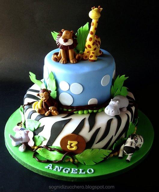 Candy Giraffe Cake Topper