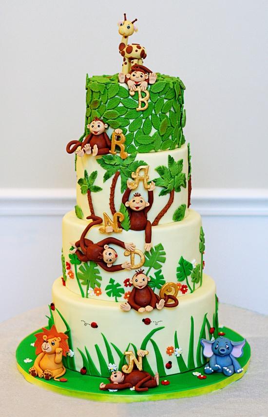 bolo selva aniversario