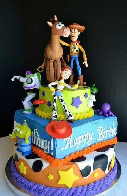bolo toy story woody