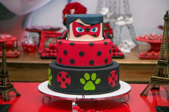bolos Decorados Miraculous Ladybug 6