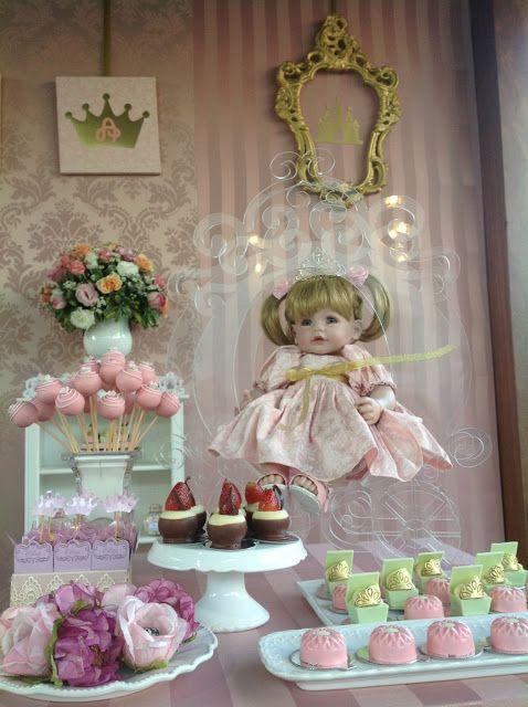 bolos decoracao cha boneca 1