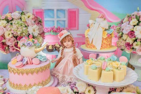 bolos decoracao cha boneca 18