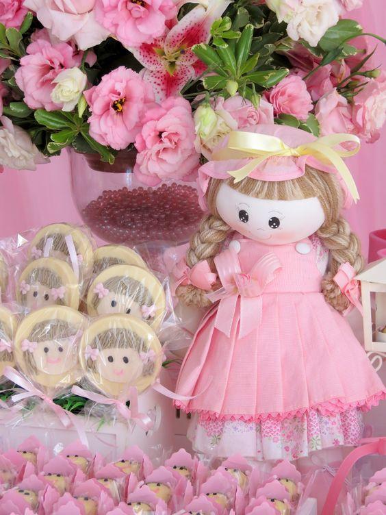 bolos decoracao cha boneca 7