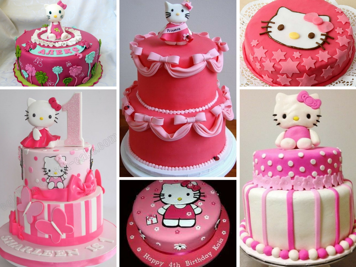 Bolo de anivers rio hello kitty - Cortinas de hello kitty ...