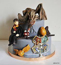 bolos decorados do harry potter