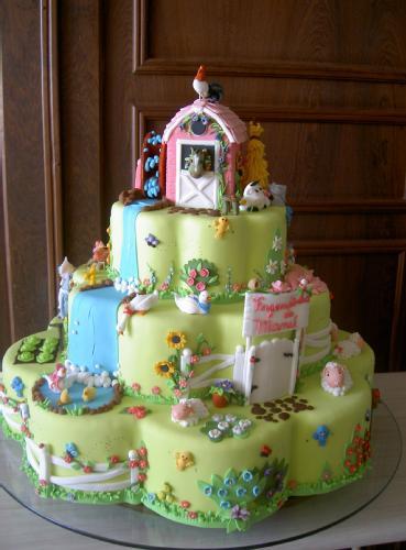 bolos decorados fazenda