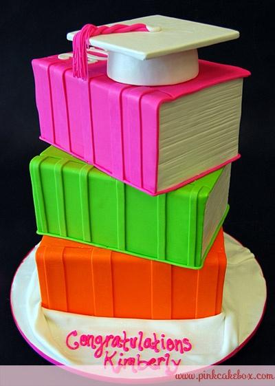 bolos decorados formatura