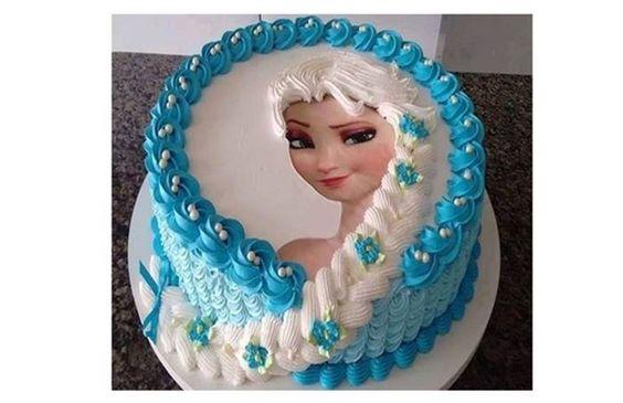 bolos decorados glace