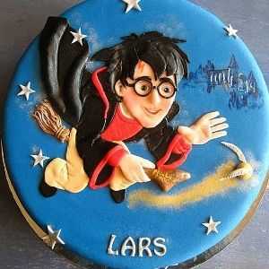 bolos decorados harry potter