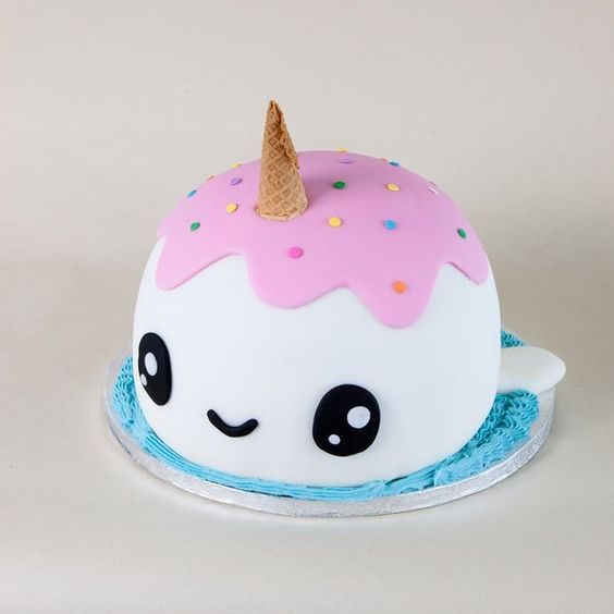 bolos decorados kawaii 10