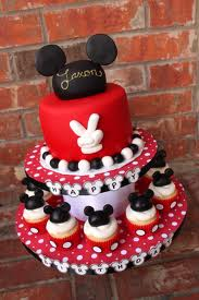 bolos decorados mickey 2