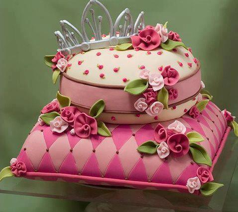 bolos decorados princesa