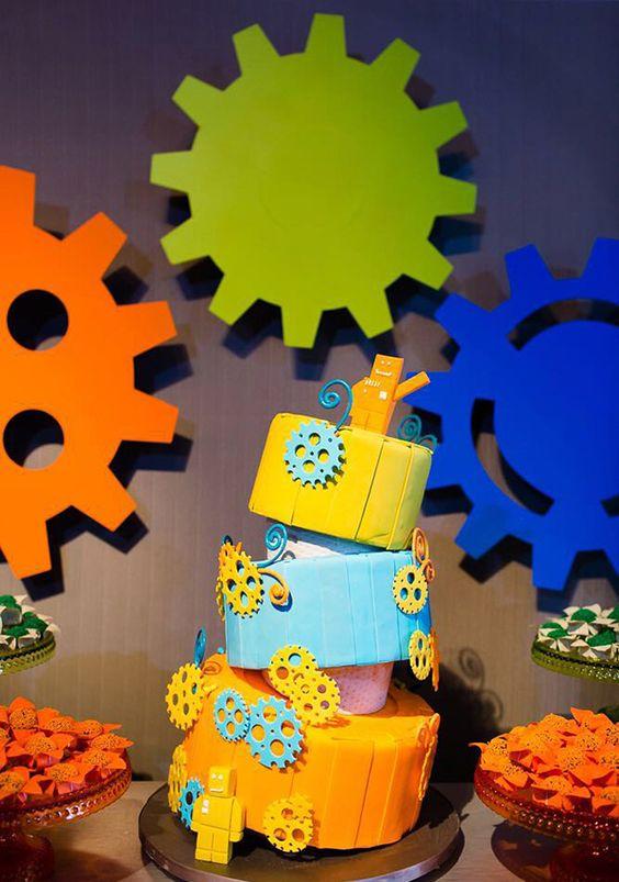 bolos decorados robos 8