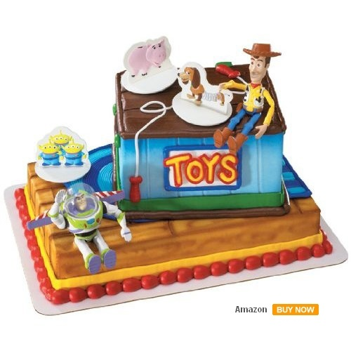 bolos decorados toy story