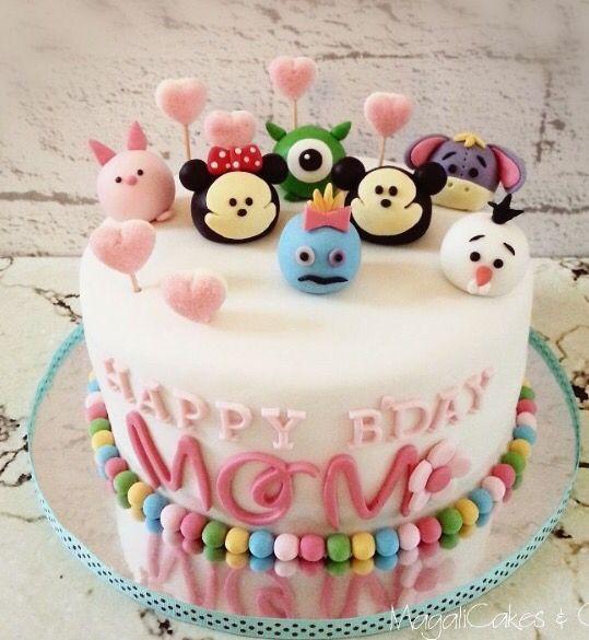 Tsum Tsum Cake Design