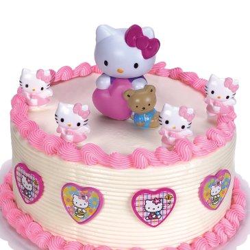 bolos meninas aniversario hello kitty