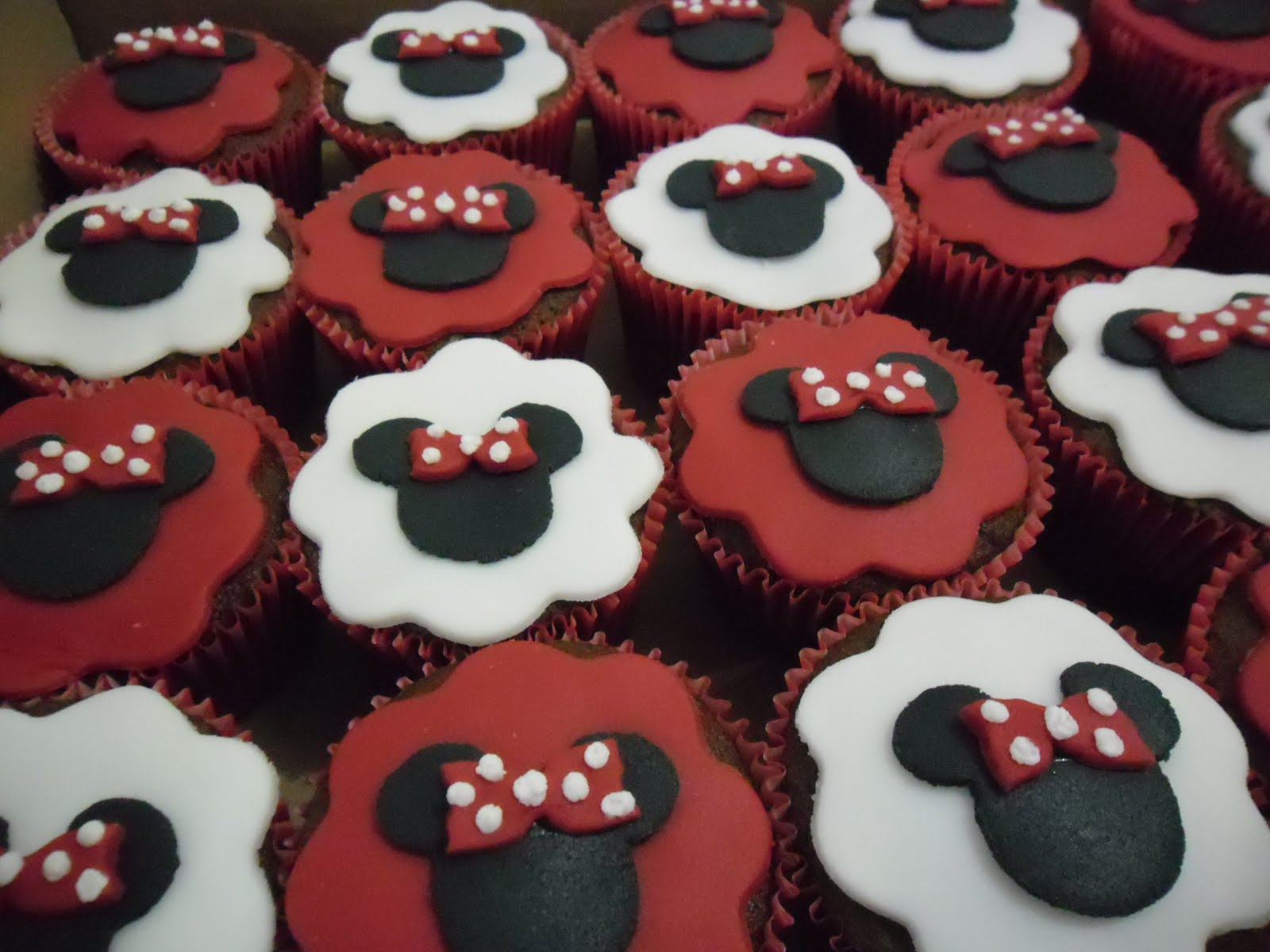 valentines fondant cupcake toppers