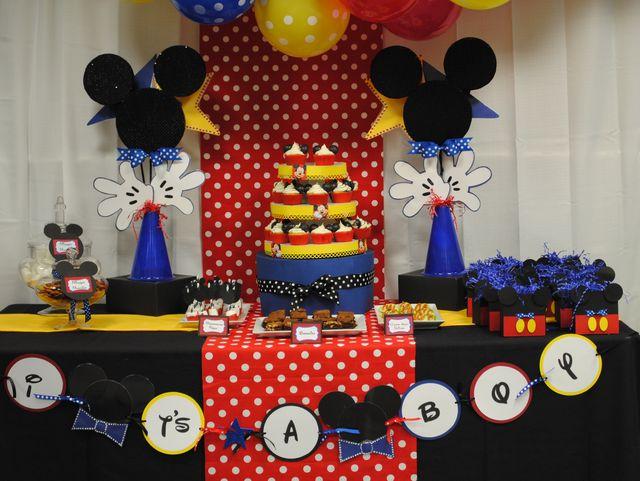 decoração infantil mickey