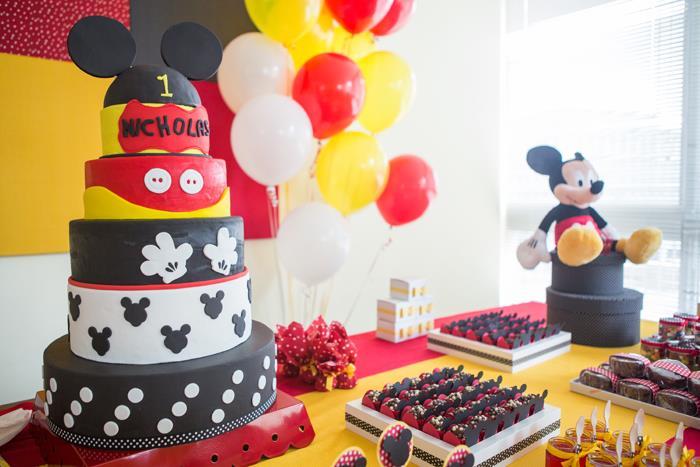 decoraçao festa mickey infantil
