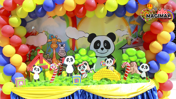 decoracao de festas infantis panda