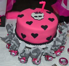 decoracao festa Monster High 1
