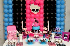 decoracao festa Monster High 4