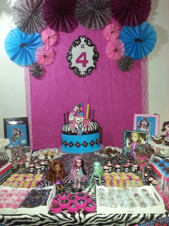 decoracao festa Monster High 6