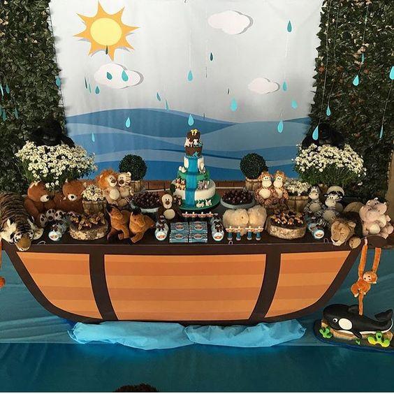 decoracao festa arca noe 2