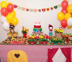 decoracao festa chapeuzinho vermelho 3