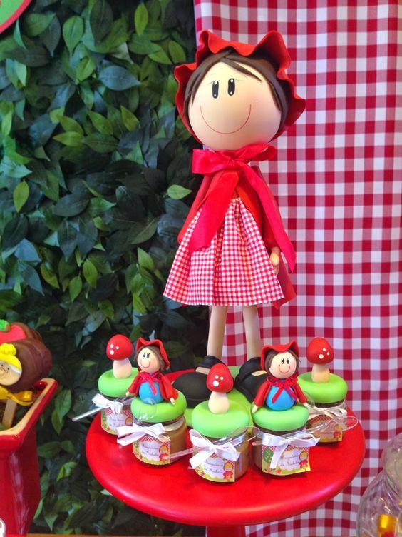 decoracao festa chapeuzinho vermelho 4