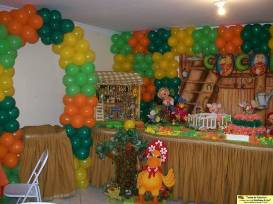 decoracao festa cocorico 2