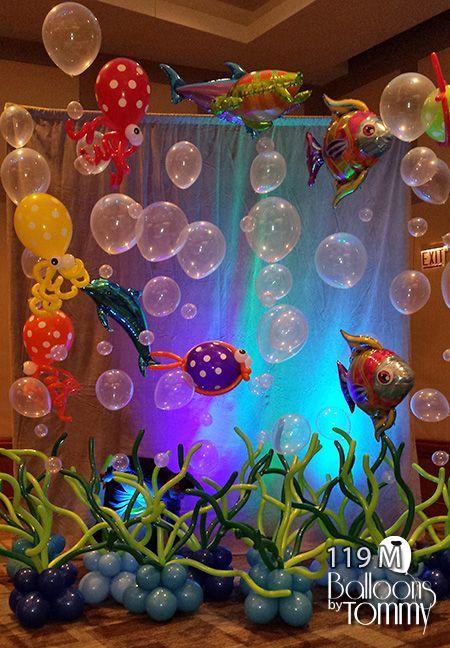 decoracao festa fundo mar 5