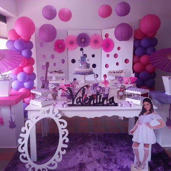 decoracao festa violetta 4