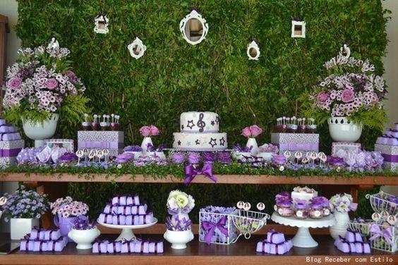 decoracao festa violetta 6