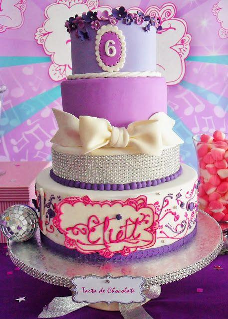 decoracao festa violetta 9