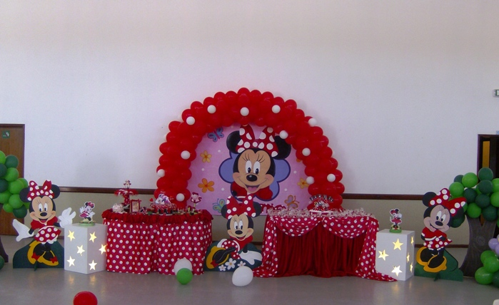 decoracao Minnie