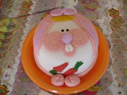 easter cake rabbit