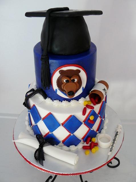 formatura bolos decorados