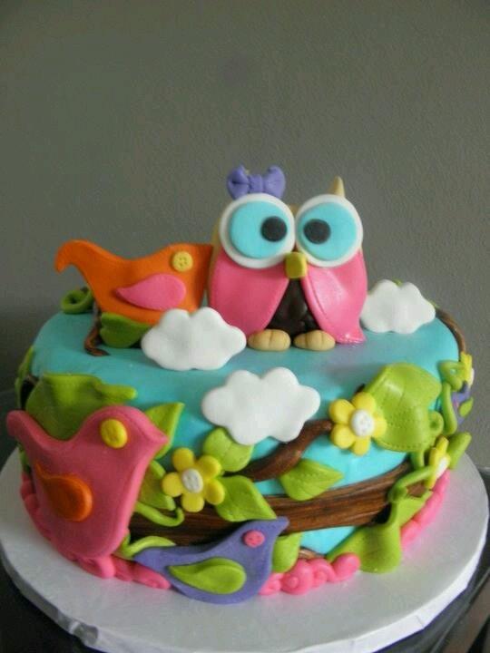 fotos bolos coruja 2