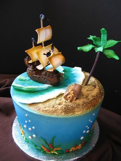 ideia bolo pirata