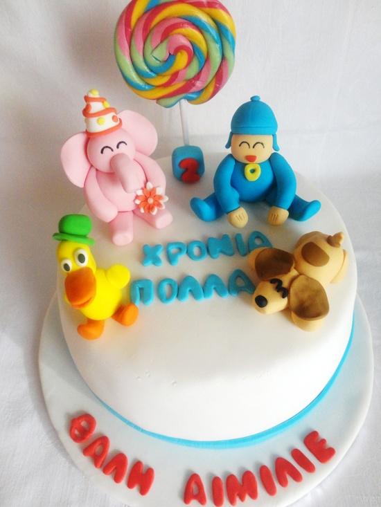 ideia bolo pocoyo